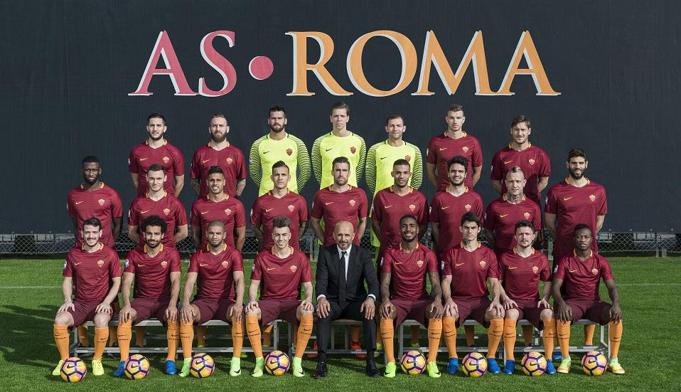 AS Roma Rosa Giallorossa Della Stagione 2019