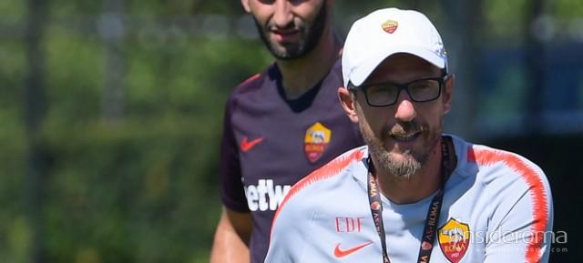 Roma in partenza per il New Jersey (VIDEO)