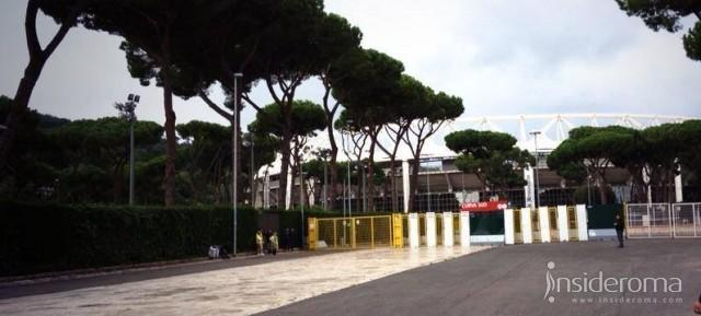 OLIMPICO, here we are! La squadra è allo stadio (VIDEO)