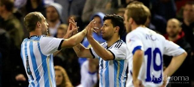 Argentina-Bosnia 2-0 con doppietta di Aguero - Pjanić in campo 90' (VIDEO)