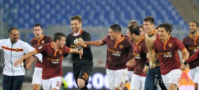 Sale la quota scudetto per la Roma
