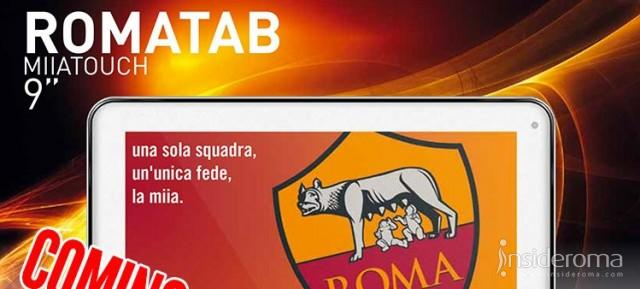 AS Roma presenta Romatab Miia touch