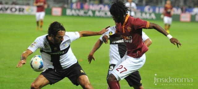 ROMA  vs  PARMA - Match Report