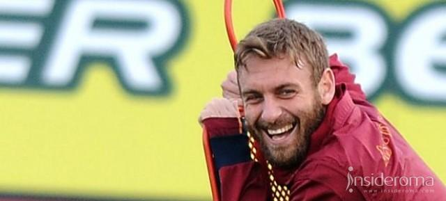 AS Roma, De Rossi non ha account ufficiali sui social network