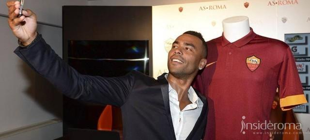 Conferenza stampa Ashley Cole: