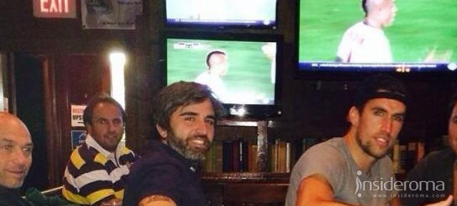 "Facebook, Strootman: ""Ho visto la gara con il Real Madrid in un pub di Boston, forza Roma!"""