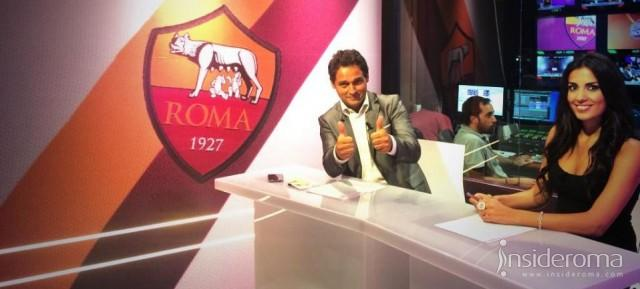 La AS Roma presenta il nuovo Media Center, una