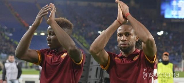Garcia saluta Keita e Gervinho Serve Iturbe