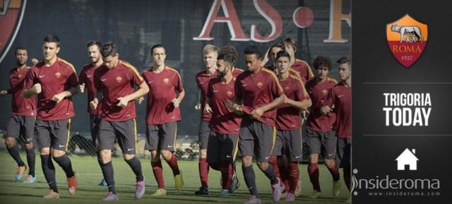 Trigoria, Out De Rossi e Strootman. Differenziato per Nainggolan