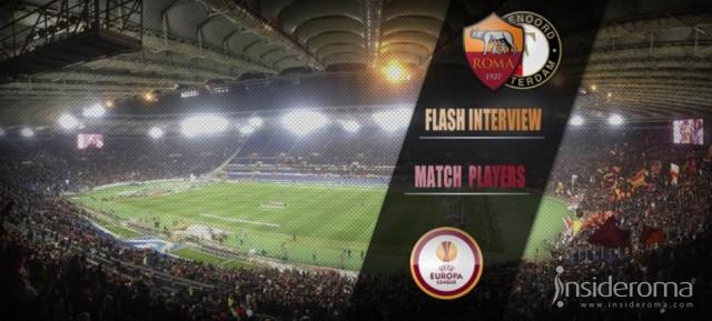 Flash Inteview Roma vs Feyenoord - Garcia: