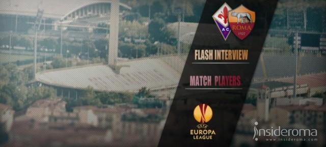 Fiorentina - Roma, Flash interview - Baldissoni: