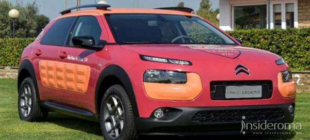 Nuova #C4Cactus, AS Roma e Charity Stars insieme per Roma Cares (Video)
