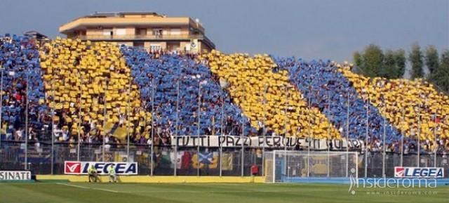 Frosinone trema per l'invasione