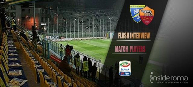 Match Inteview Frosinone vs Roma: Garcia: