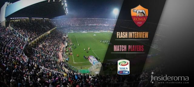 Match Interview Roma -  Garcia: