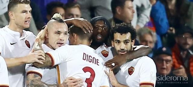 Roma prima in classifica: lo scudetto si  gioca a 2,70