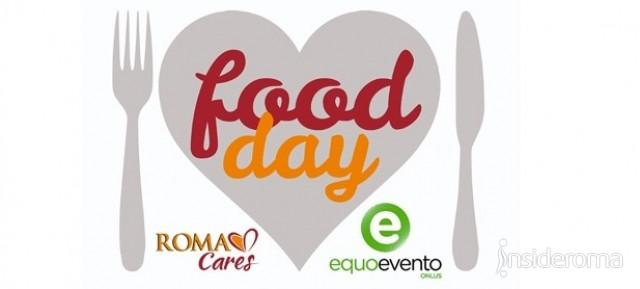 «Food Day» All'Olimpico raccolti 600 kg di cibo