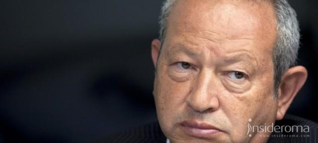 "Sawiris: ""Era stata fatta un'offerta sull' AS Roma"" (Video)"