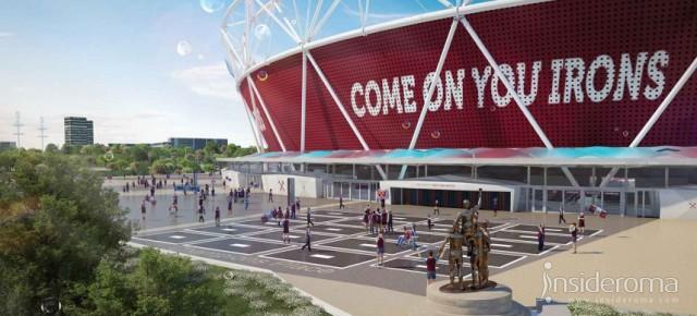Alla scoperta dell'Olympic Stadium: la nuova casa del West Ham (Video)