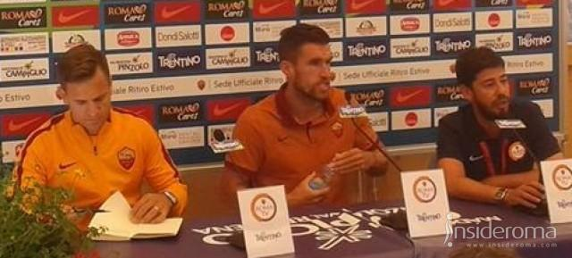 LIVE - Strootman in conferenza stampa: