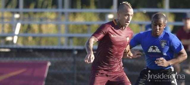 Emerson Palmieri e Nainggolan in azione contro Boston Bolts e Global Premier Management FC (FOTO)