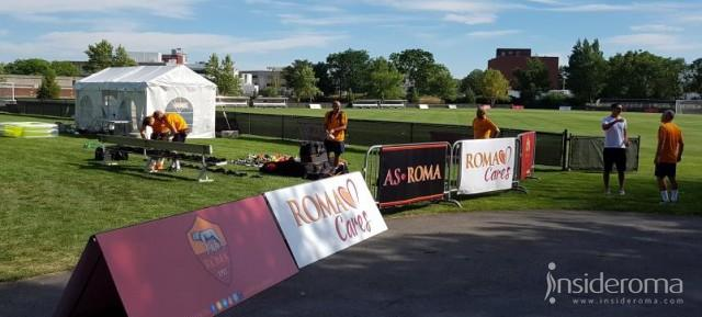 La As Roma Usa Academy scende in campo per l'allenamento (FOTO E VIDEO)