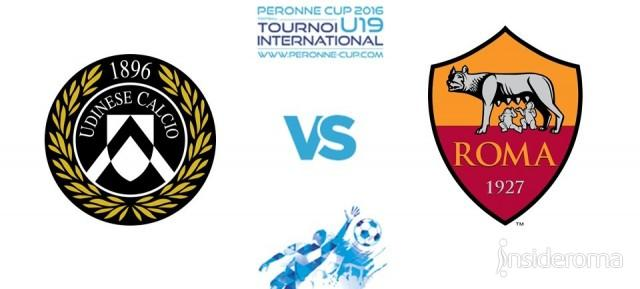 Peronne Cup - Alle 17.00 la finale Udinese-Roma