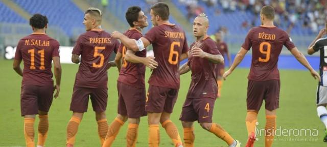 Roma in partenza per Cagliari (VIDEO)