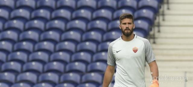 "Alisson: ""Tranquillo anche in panchina"""