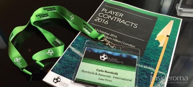 Player Contracts 2016, intervista all'Avv. Carlo Rombolà