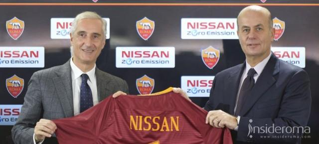 Partnership tra As Roma e Nissan - Gandini: