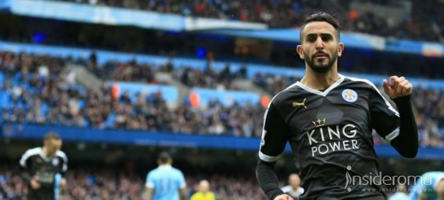 Per i bookmakers Mahrez dice Roma