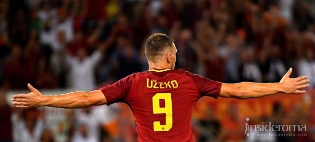 Roma, è Dzeko l'unica certezza