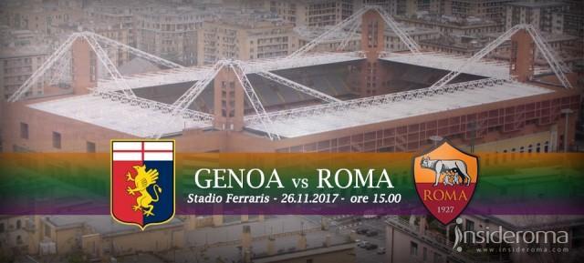 Genoa vs Roma - Tutte le info sul match di domani a