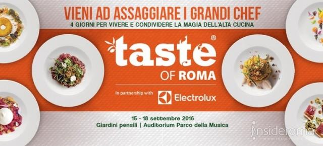 Taste of Roma 2016, chef stellati e alta cucina all'Auditorium